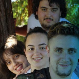 Alba García, Fátima Fathallah, Brais García e Jonathan Blanco